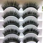 5Pairs Beauty Makeup Soft Long Eye Lashes Extension Thick False Eyelashes