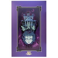 Disney Haunted Mansion 50th Medium of the Mansion Deluxe Print by Buscema