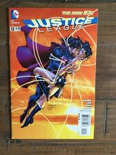 Justice League (2011) # 12 VF. Superman Wonder Woman Kiss Cover By Jim Lee