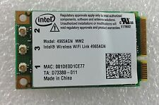 SONY VAIO VGN AR61M PCG 8112M Wifi Wi-Fi WLAN Wireless Card GENUINE 4965AGN MM2