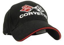 C3 Corvette Black & Red Piping Twill Hat