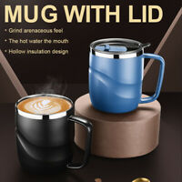 Stainless Steel Insulated Coffee Mug with Sliding Lid Vacuum Travel Mug ONY