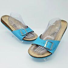 Birkenstock TULA Madrid Womens Blue Slide Sandals Shoes Size 43 US L12 Narrow