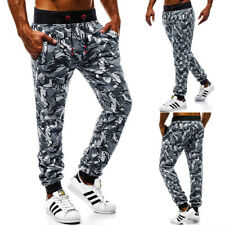 Men's Casual Joggers Pants Sweatpants Cargo Loose Combat Workout Sports Trousers