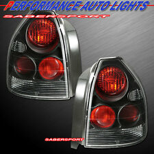 1996-2000 HONDA CIVIC CX DX 3DR HATCHBACK ALTEZZA TAIL LIGHTS BLACK COLOR PAIR