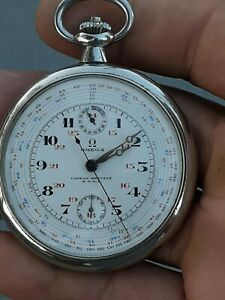 OMEGA CADRAN BREVETE SGDG WORKING & ACCURATE TIME,CAL 39 CHRO, NICE CONDITION'S