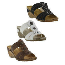 Wedge Women's Sandals Synthetic Leather Heels