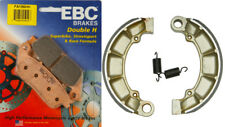 EBC Brake Pad Kit - FA196HH HH Front Pads & 343 Rear Shoes - Honda VT750 Shadow