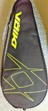 Volkl Tennis Racket Bag w/ 2 Drawstring Cinch Bags Black & Yellow Excellent