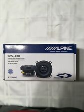 Alpine SPS-410 2-Way 4in. Car Speakers System