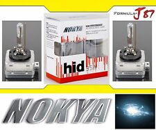 Nokya HID Xenon D3R 6000K White Two Bulbs Head Light Low Beam Replacement OE