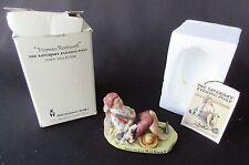 Norman Rockwell 'Lazybones' by Dave Grossman 1979 Figurine In Original Box