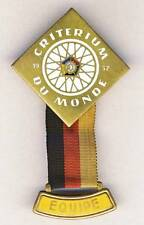 1957 UCI Road CYCLING WORLD Championships EQUIPE TEAM Pin Badge PARTICIPANT