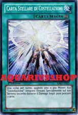 Yu-Gi-Oh! Carta Stellare di Costellazioni HA07-IT027 Rara Segreta ITA Constellar