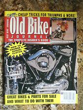 Old Bike Journal August 1999 #111  1957 Harley-Davidson, 1974 Bultaco 360 Astro