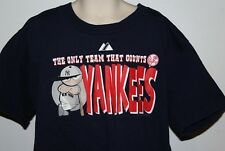 "New York Yankees ""The Only Team That Counts Yankees"" Majestic Kids Med T Shirt"