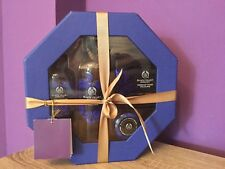 The Body Shop Black Velvet Apricot, Ultra Rare Gift Set. Body Shimmer, Soap, Lip