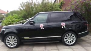 Handmade Luxury 5 Bow Decoration Kit for Cars, Wedding,Prom,Birthday,Limo