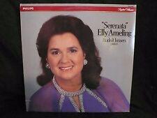 ELLY AMELING Serenata LP + Rudolf Jansen 1984 Modern Classical Piano Netherlands