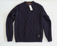 Espirit Knitting Men's Sweater Crew Neck Slim fit, size S Vintage