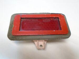 1971+ FORD MUSTANG RED LIGHT & BEZEL MARKER LIGHT FORD PT # 71 AMG ORIGINAL USED