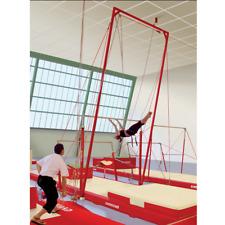 L Norberts Gymnastic Spotting Belt Acrobatic Training Rig Tumbling Bar Gymnast