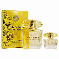 Versace Perfume Yellow Diamond EDT Womens Fragrance 30ml 1oz + Mini Parfum Set