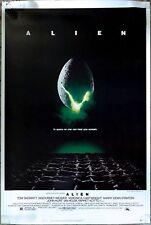 "Alien 1979 Original Movie Poster (40"" x 60"") Rolled Never Folded C9 Near Mint"