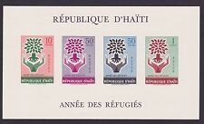 Haiti 1960 mini sheet World Refugee Year  trees MNH ** OG gomma integra