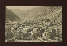 ANDORRA Capital general view c1930/40s? printed PPC by V Claverol