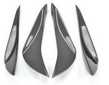 Carbon Flaps Splitter Lippe Spoiler Canards passt für Toyota GT86 Subaru BRZ
