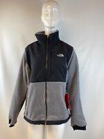 NWT The North Face Denali 2 POLARTEC Gray/Black Full Zip Jacket Women's Size M