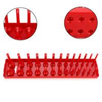 26/28/30/34 1/4'' 3/8'' 1/2'' Slot Socket Rack Storage Tray Holder Organizer
