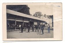 photo carte postale   groupe d'homme ,joueurs de crocket  (1016e)