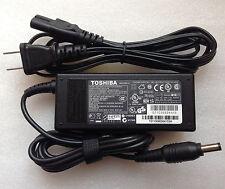 Original Genuine OEM 65W AC Adapter for Toshiba Satellite L755-S5103,L755-S5107