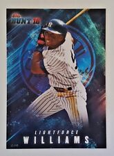 "2016 TOPPS BUNT BERNIE WILLIAMS ""LIGHTFORCE"" 5X7 JUMBO ART CARD #/49 YANKEES"