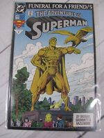 The Adventures of Superman Funeral For a Friend #5 (499) Bagged & Boarded C722