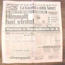 Gazzetta dello sport 11 6 1984 Moser VINCE il suo giro