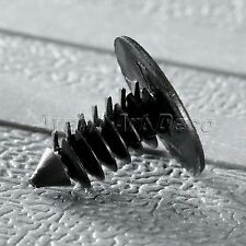 50Pcs 8mm Hole Plastic Rivets Fastener Push Clips for Car Auto Fender Bumper