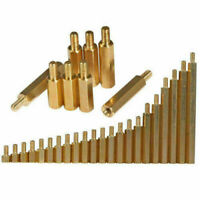 Hxchen 20Pcs M3x40 Female Thread Hexagonal Hex Brass Pillar Standoff Spacer