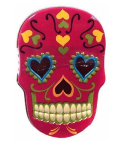 Day of the Dead Dia de Muertos Skeleton Tins With Skull Candy Treats FAST SHIP