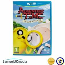 Adventure Time: Finn and Jake Investigations (Nintendo Wii U) *GREAT CONDITION*