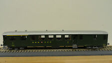Rail Top Modell HO J500 SBB-CFF 4 Swiss SEETAL passenger coaches.