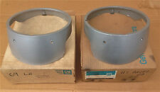 NEW GM NOS 1969 CAMARO HEAD LIGHT BEZELS WITHOUT CHROME RINGS 3935927 3935928