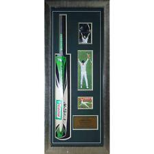 Cricket Australia Adam 'Gilly' Gilchrist Bat - Framed