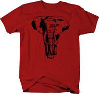 African Elephant Safari Jungle Circus Color T-Shirt