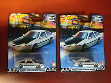 Hot Wheels 2020 boulevard TOYOTA AE86 Sprinter Trueno LOT x2 corolla jdm premium