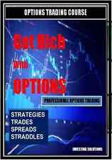 Options Trading Course from the Experts Learn Stock Market Wall Street on CD DVD