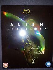 Alien Anthology Blu-ray pack,UK edition ,6 discos.