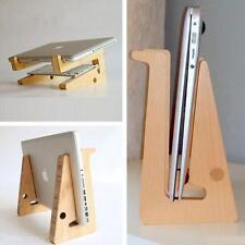 Abziehbar Universal Halterung Holz+Bambus Ständer Für Notebook Laptop Tablet PC